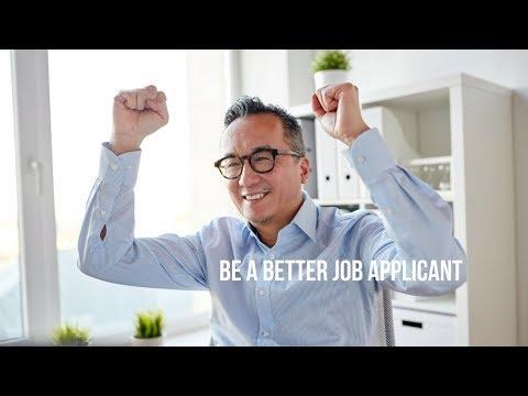 Be a Better Job Applicant