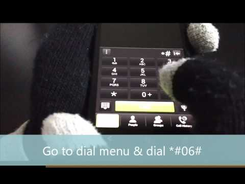 Check your phone IMEI tutorial - T-Mobile HTC One S