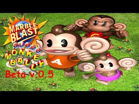 Marble Blast Super Monkey Ball Beta v.0.5 Preview