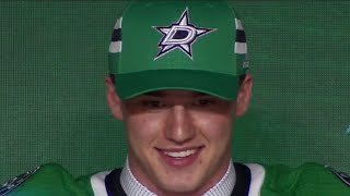 Stars take first goalie in draft, Oettinger at 26
