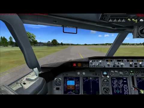 Microsoft Flight Simulator X Gameplay [HD]