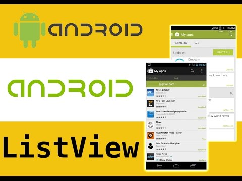 ListView android , Listview with Images and Text android studio, Custom ListView With BaseAdapter