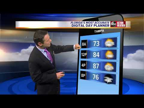 Florida's Most Accurate Forecast with Greg Dee on Tuesday, May 29, 2018