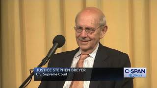 "Justice Breyer on Cameras in the Court: ""Eventually TV will be there..."" (C-SPAN)"