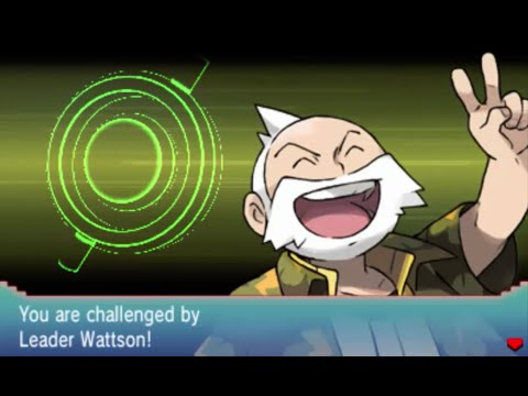 Pokémon Alpha Sapphire Walkthrough Part 19: Gym Leader Wattson