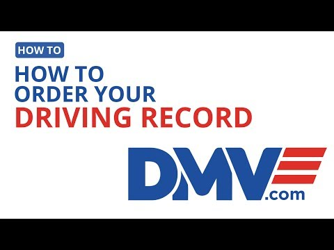 How To Order Your Driving Record | DMV.com