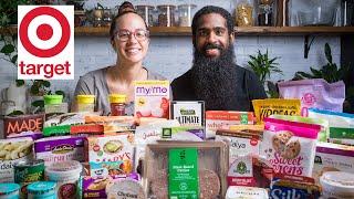 We Bought 50+ Game changing Vegan Items at Target   Vegan Grocery Haul / Taste Test
