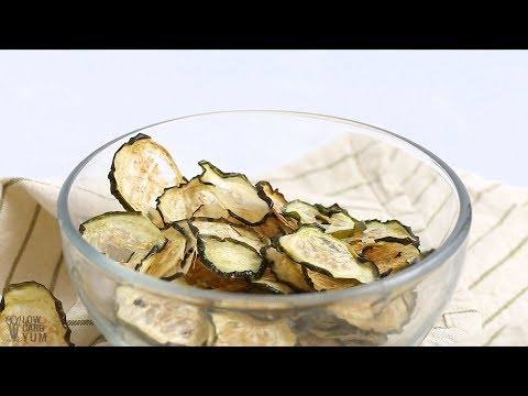 How to Make Baked Cucumber Chips
