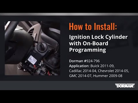 GM Ignition Lock Cylinder with On-Board Programming without Original Key by Dorman Products