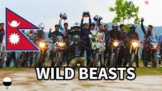 RIDE TO DHULIKHEL ft. WILD BEASTS NEPAL | APACHE 200 | MOTOVLOG [EP#29]