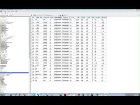 MultiQuant Software Demo - Navigating Results Tables (Video 2 of 3)
