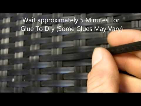 How To Repair Rattan Garden Furniture