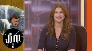 Kristaps Porzingis bringing Knicks fans hope | The Jump | ESPN