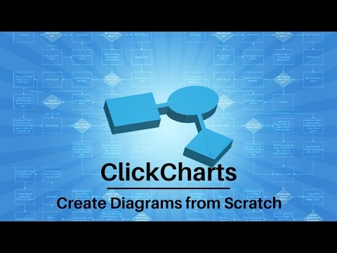 ClickCharts Software Tutorial | Create Diagrams from Scratch