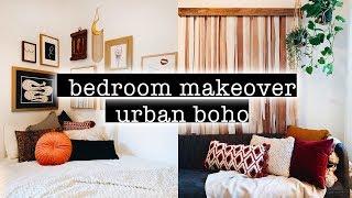 Extreme BOHO Bedroom Makeover / Transformation + Room Tour 2019 (Simple + Aesthetic Boho Room Decor)