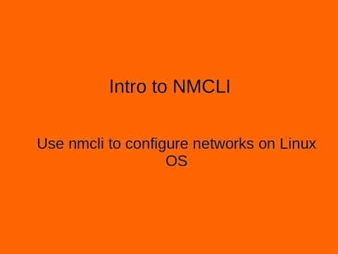 Linux Network Configurations using NMCLI. Static routing, IPv6 + (RHCE Topic)