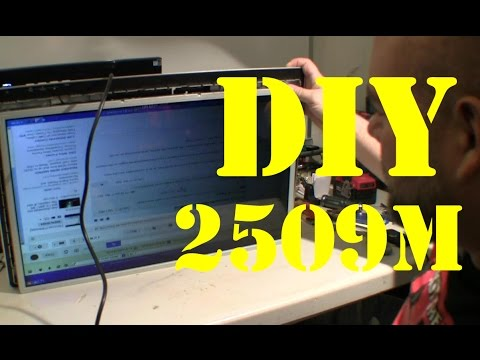 HP 2509m LCD monitor - bad ccfls and boards - Pt 2