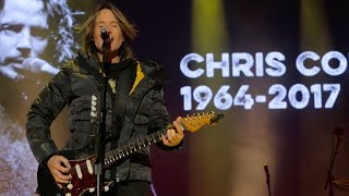 Keith Urban - New Year's Eve Tribute to Artists We Lost in 2017