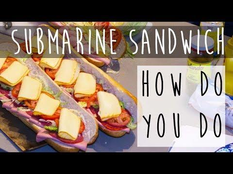 The Ultimate Italian Sub Sandwich    Best Hoagie Ever!