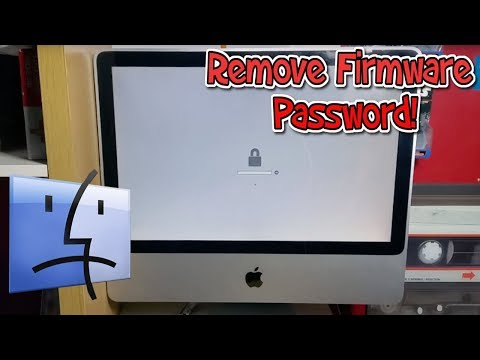 How To Remove The Firmware Password On An Older iMac ( Pre 2011 ) Tutorial ( Apple Secret )