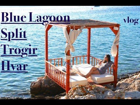 Split, Trogir, Blue Lagoon and Hvar, Croatia