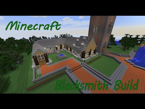 Minecraft Blacksmiths Build