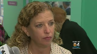 Rep. Wasserman Schultz Dodges Questions About Explosive Allegations From Former DNC Chair