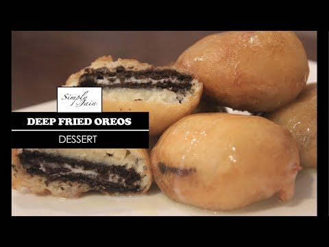 Deep Fried Oreos | How To Make Deep Fried Oreos | Dessert | Simply Jain