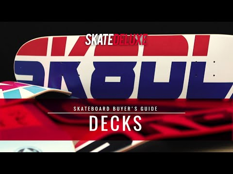 How to choose your skateboard deck | skatedeluxe Buyer's Guide