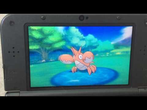 Pokémon Omega Ruby Shiny Corphish!!!!