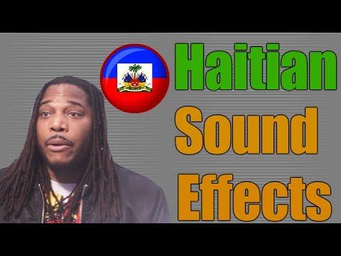 Onomatopoeia & their use in Haitian Creole