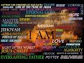 The Names Of Almighty God Yahweh Of Israel He Is Jesus Chris
