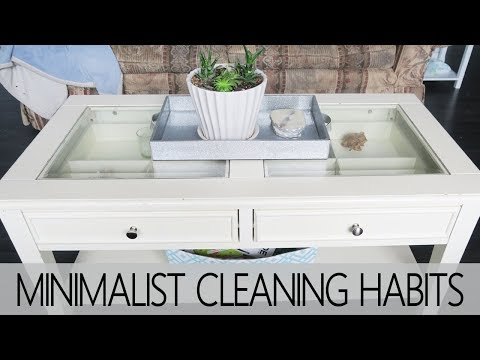 5 MINIMALIST CLEANING HABITS | STRESS-FREE ENVIRONMENT