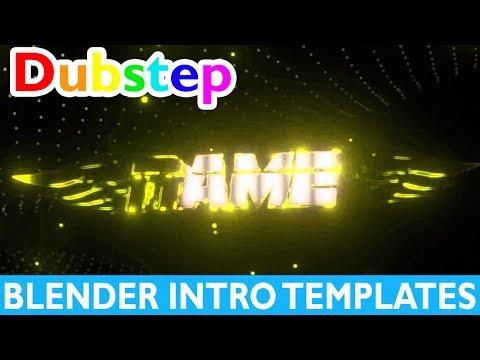 Top 10 Blender Dubstep Intro Templates 2017 + Free Download Gaming 2D Fast Render