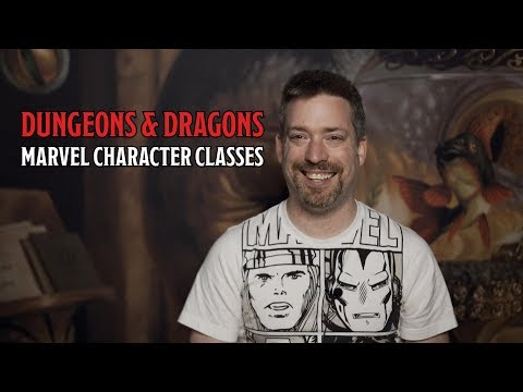 What Class Would Marvel Characters Have in D&D?