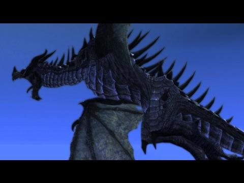 WOW I SURE DO LOVEEE SKYRIM DRAGONS!!! GOD DAMN! (60fps)