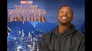 Michael B Jordan On His Black Panther Underwear, Body and Chicken Fillets | Joshington Hosts