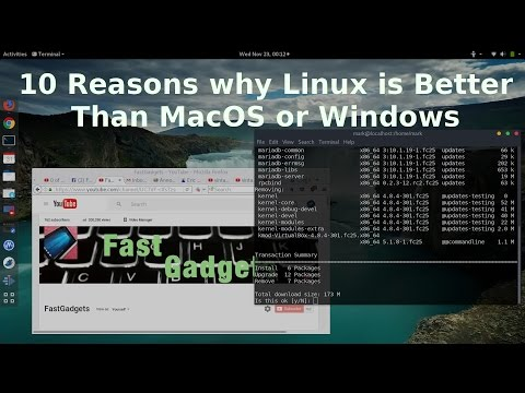 10 Reasons why Linux is Better Than MacOS or Windows