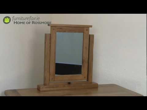Chilton Oak Dressing Mirror