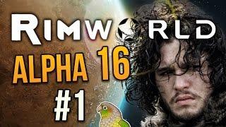 YOU KNOW NOTHING, JON WEASEL ★ Rimworld Alpha 16 (Crashlanded) - #1