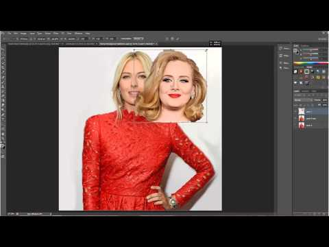 Photoshop Tutorial Swap a Head - The Easy Way