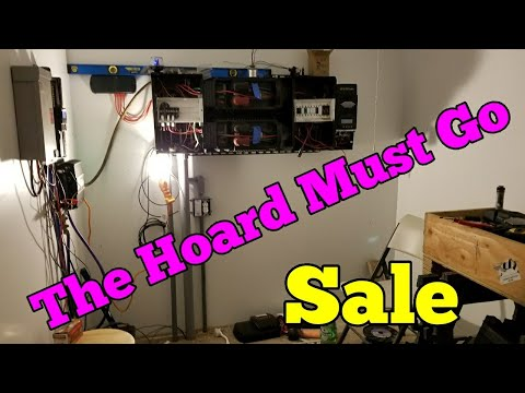 The Hoard Must Go ! 4 Sale