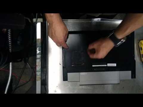 Remove hard drive from Dell Latitud e6510