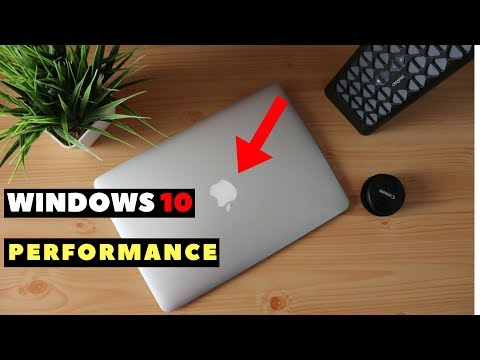 WINDOWS 10 ON A MACBOOK PERFORMANCE REVIEW | DUAL BOOT AWESOMENESS!!