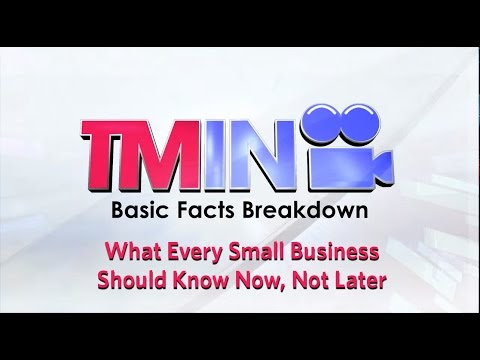 Basic Facts 01: What Every Small Business Should Know Now, Not Later