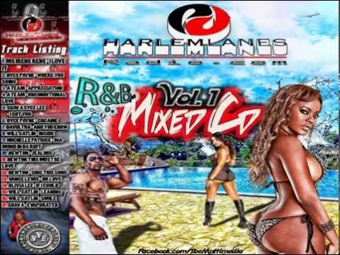 HARLEM LANES RADIO R&B VOL 1 MIX CD  HOSTED BY