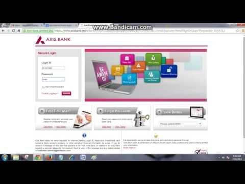 How to check your Mini statement & Statement Enquiry in Axis Internet banking