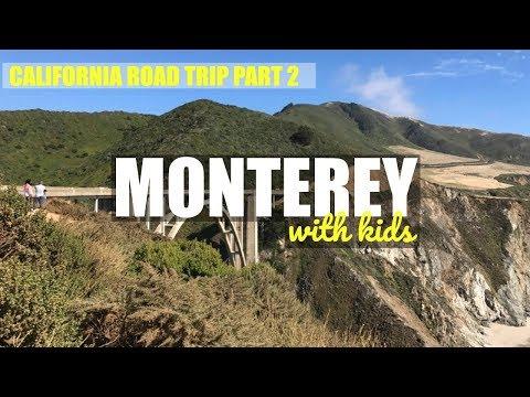 CALIFORNIA ROAD TRIP PART 2: MONTEREY, CARMEL, BIG SUR, 17 MILE DRIVE