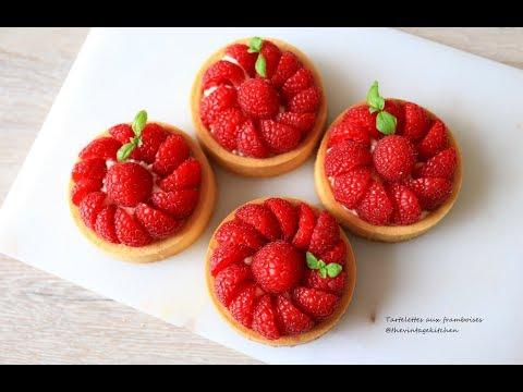 Raspberry Tart with White Chocolate Mascarpone Cream / Nattharinkitchen