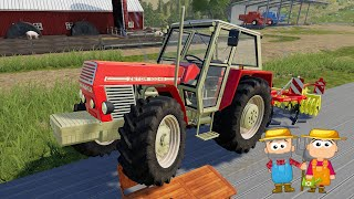 I love these Tractors🚜 Manure, Slurry and Comprehensive Farming - Online Farmer Simulation